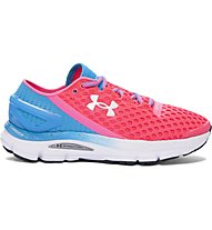 Under Armour Gemini 2 W - Damenlaufschuhe, Pink/Light Blue