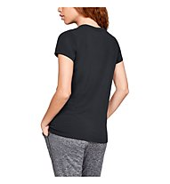 Under Armour Graphic Classic Crew Chest Logo - T-shirt fitness - donna, Black