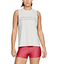 Under Armour Graphic WM Muscle Tank - Trainingstop - Damen, White