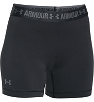 Under Armour HeadGear Armour Middy pantaloncini da corsa donna, Black
