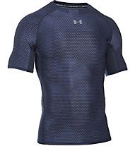 Under Armour HeatGear Printed Trainingsshirt Herren, Blue