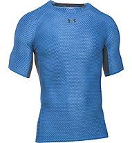 Under Armour HeadGear Printed T-shirt Fitness, Light Blue