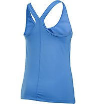 Under Armour HeadGear Racer Tank Top running donna, Azure