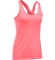 Under Armour HeadGear Racer Tank Top running donna, Brillance