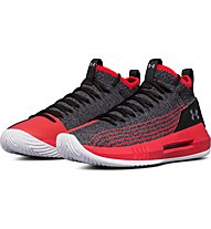 Under Armour Heat Seeker - scarpe da basket - uomo, Red/Black