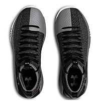 Under Armour Heat Seeker - scarpe da basket - uomo, Grey/Black
