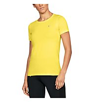 Under Armour HeatGear Armour - T-Shirt - Damen, Yellow