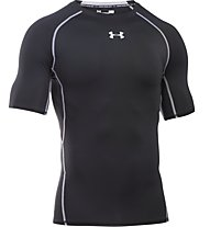 Under Armour HeatGear Armour Compression - Fitnessshirt kurzarm - Herren, Black