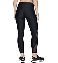 Under Armour HeatGear® Armour Shine Ankle Crop - pantaloni fitness - donna, Black