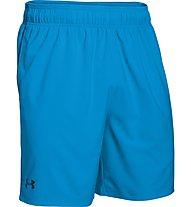 Under Armour Heatgear Mirage Short 8 pantaloni corti fitness, Brilliant Blue