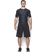 Under Armour HeatGear Printed maglia a compressione, Black