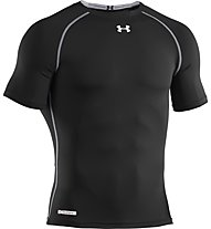 Under Armour Heatgear Soni Compression T-Shirt Fitness, Black