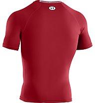 Under Armour Heatgear Sonic Compression Herren-Shirt, Dark Red