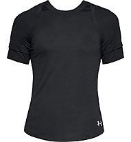 Under Armour Hex Delta - T-shirt running - donna, Black