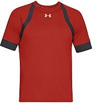Under Armour Hexdelta Shortsleeve - Laufshirt - Herren, Red