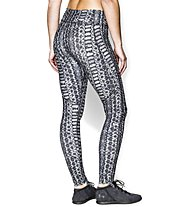 Under Armour HG Alpha Printed Legging Donna, Black Printed