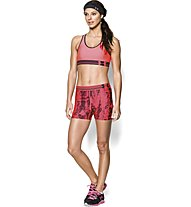 Under Armour HG Alpha Printed Shorty Donna, Pink Shock