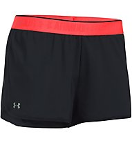 Under Armour HG Armour 2 in 1 Shorty - kurze Trainingshose - Damen, Black/Red