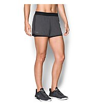 Under Armour HG Armour 2 in 1 Shorty - kurze Trainingshose - Damen, Dark Grey