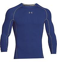 Under Armour HG Armour Compression - Langarmshirt Fitness - Herren, Blue