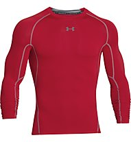 Under Armour HG Armour Compression - Langarmshirt Fitness - Herren, Red