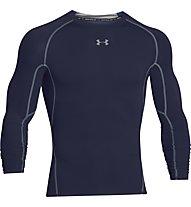 Under Armour HG Armour Compression - Langarmshirt Fitness - Herren, Dark Blue