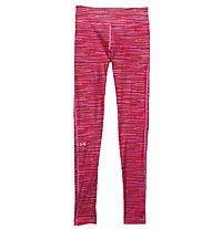 Under Armour HeatGear Armour Printed Legging donna, Rebel Pink/Orange