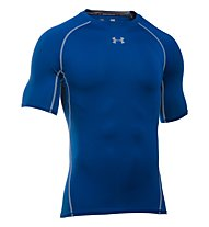 Under Armour HeatGear Armour Compression - Fitnessshirt kurzarm - Herren, Light Blue