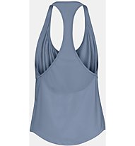 Under Armour HG Mesh Back - top fitness - donna, Blue