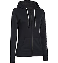 Under Armour Hoodie Storm Rival Cotton Jacke Damen, Black