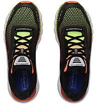 Under Armour HOVR Infinite - scarpe running neutre - uomo, Black/Orange/Yellow