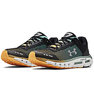 Under Armour HOVR Infinite - Laufschuhe Neutral - Herren, Black/Green/Orange