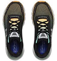 Under Armour HOVR Infinite - scarpe running neutre - uomo, Black/Green/Orange