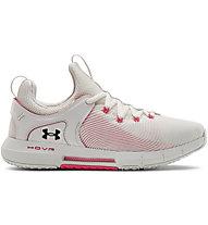 Under Armour Hovr Rise 2 - Fitness- und Trainingsschuh - Damen, White/Pink