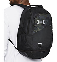 Under Armour Hustle 4.0 - Daypack, Black/Camouflage