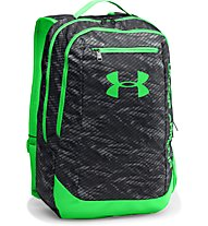 Under Armour Hustle Backpack LDWR 29 L - Zaino, Black/Green