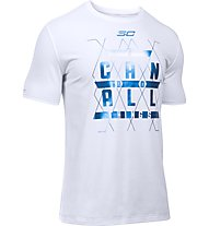 Under Armour I can do all things - T Shirt - Herren, White