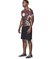 Under Armour Alter Ego Iron Man Kompressionsshirt, Maroon