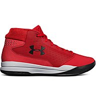Under Armour Jet Mid - Basketballschuh - Herren, Red