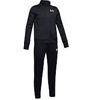 Under Armour Knit - tuta sportiva - ragazza, Black