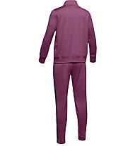 Under Armour Knit - tuta sportiva - ragazza, Pink