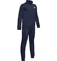 Under Armour Knit - tuta sportiva completa - ragazzo, Dark Blue