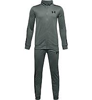 Under Armour Knit - tuta sportiva completa - ragazzo, Grey