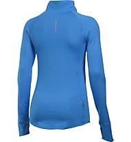 Under Armour Layered Up! 1/2 Zip Langarmshirt Damen, Blue