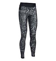 Under Armour HeatGear Armour Printed - Legging Fitnesshose - Damen, Black/White