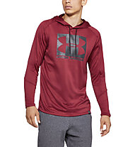 Under Armour Lighter Longer PO Hoodie - Kapuzenpullover - Herren, Red