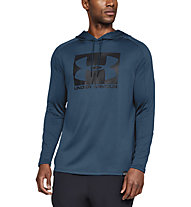 Under Armour Lighter Longer PO Hoodie - felpa con cappuccio - uomo, Blue