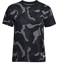 Under Armour Live Fashion Denali Print - Trainingsshirt - Damen, Black/Grey