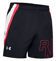 Under Armour Launch SW 5''' Grafik - kurze Running-Hose - Herren, Black