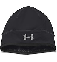 Under Armour ColdGear Run - berretto running, Black